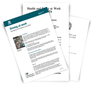 Health and Safety Law Publications
